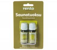 Rento Szauna illat,bliszter, nyírkátrány és fenyőerdő, 2x10ml